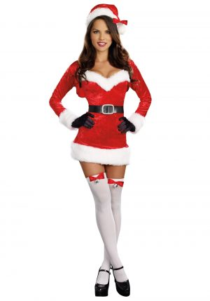 Fantasia de Mamãe Noel Sexy – Sexy Santa Baby Costume