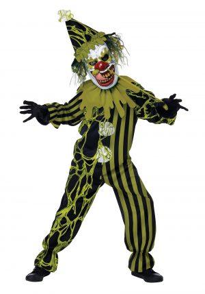 Fantasia de Palhaço terror para Crianças – Boy's Boogers The Clown Costume