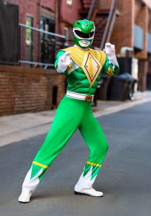 Fantasia de Power Rangers Verde – Power Rangers Green Ranger Men's Costume