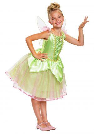 Fantasia de SININHO Peter Pan -Peter Pan Girls Tinker Bell Costume