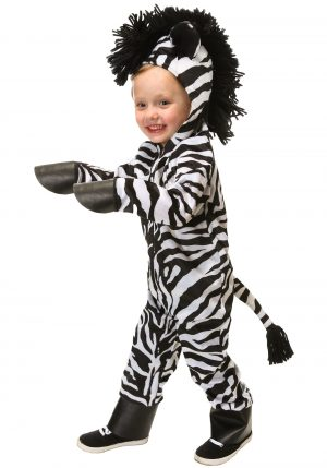 Fantasia de Zebra para Crianças – Wild Zebra Toddler Costume