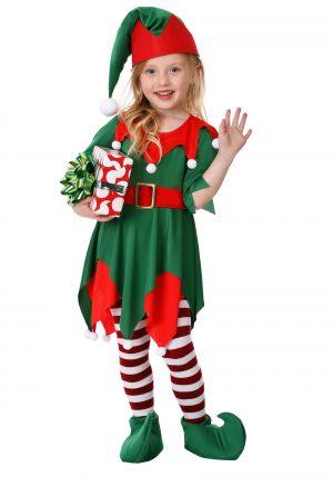 Fantasia de ajudante do Papai Noel – Toddler Girl's Santa's Helper Costume