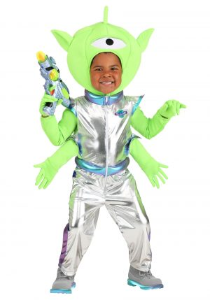 Fantasia de alienígena amigável para crianças -Friendly Alien Costume for Toddlers
