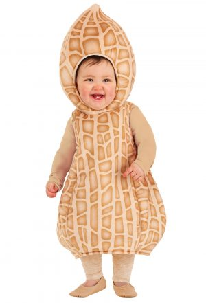 Fantasia de amendoim para bebês – Peanut Costume for Infants