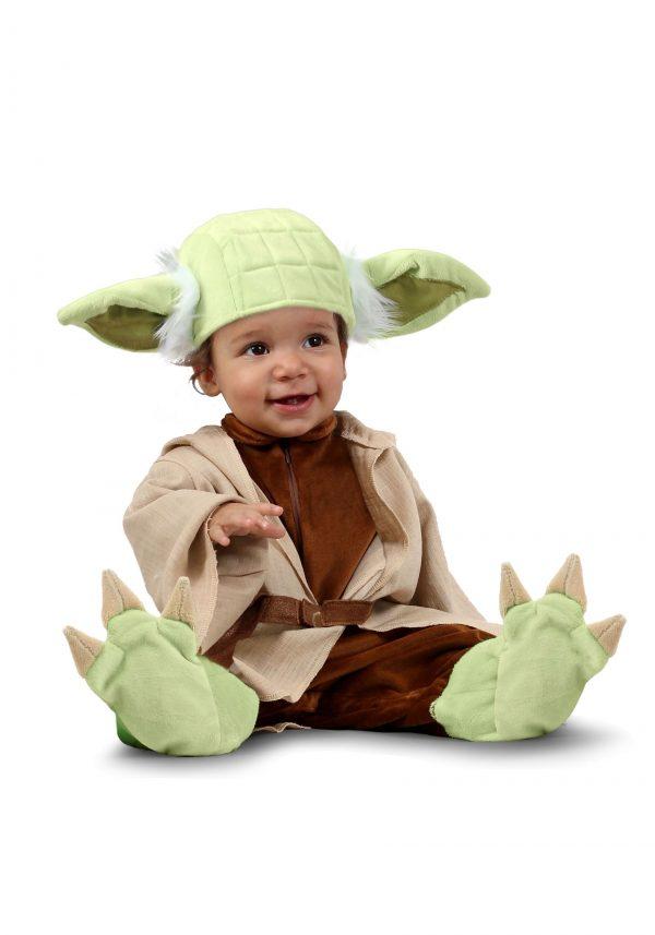 Fantasia de bebê Yoda de Star Wars -Star Wars Baby Yoda Costume