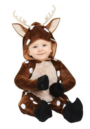 Fantasia de bebê cervo- Baby Deer Infant Costume