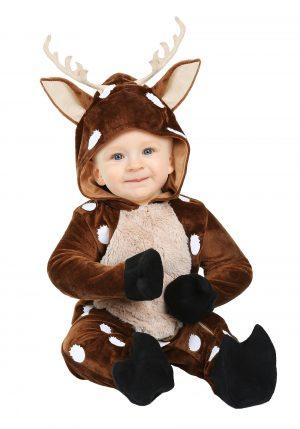 Fantasia de bebê cervo- Baby Deer Infant Costume