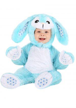 Fantasia de bebê coelhinho azul – Fluffy Blue Bunny Baby Costume