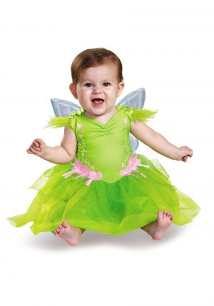 Fantasia de bebe Tinker Bell – Tinker Bell Deluxe Infant Costume