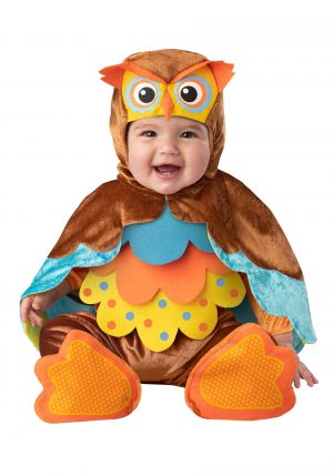 Fantasia de bebe corujinha colorida – Infant Hootie Cutie Costume