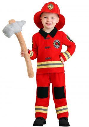 Fantasia de bombeiro para crianças – Toddler Friendly Firefighter Costume