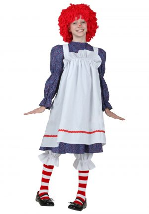 Fantasia de boneca de pano infantil – Child Rag Doll Costume