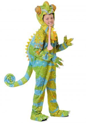 Fantasia de camaleão realista para crianças – Childs Realistic Chameleon Costume
