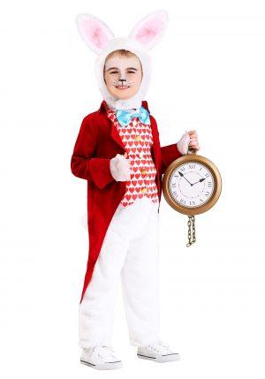 Fantasia de coelho branco-Toddler's Dignified White Rabbit Costume