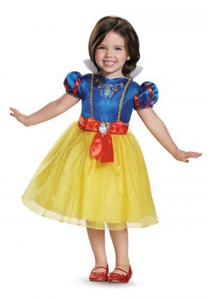 Fantasia de criança branca de neve – Snow White Classic Toddler Costume