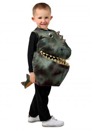 Fantasia de dinossauro infantil alimenta-me-Kid's Feed Me Dinosaur Costume