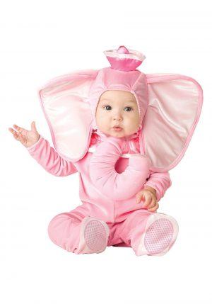 Fantasia de elefantinho cor de Rosa -Infant Pink Elephant Costume