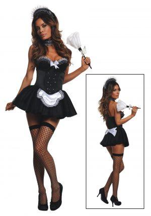 Fantasia de empregada doméstica sedutora – Women's Seductive Maid Costume