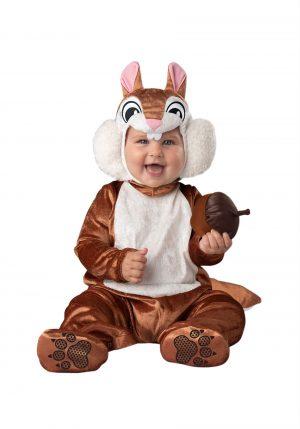 Fantasia de esquilo para bebe- Infant Cheeky Chipmunk Costume