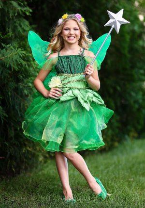 Fantasia de fada Infantil – Girls Garden Fairy Costume