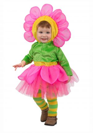 Fantasia de flor de meninas  – Toddler's Girls Flower Costume