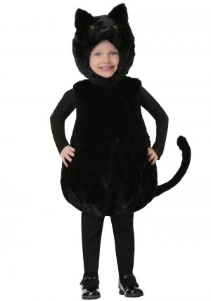 Fantasia de gatinho preto – Toddler Bubble Body Black Kitty Costume
