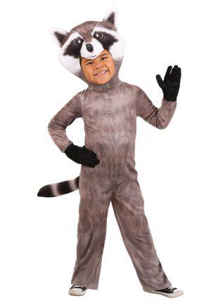 Fantasia de guaxinim realista para crianças -Toddler Realistic Raccoon Costume