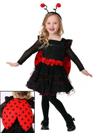 Fantasia de joaninha menina -Toddler Girl's Sweet Ladybug Costume