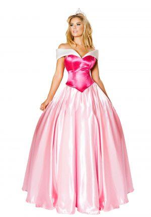 Fantasia de linda princesa – Women's Beautiful Princess Costume Dress