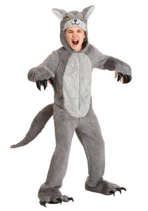 Fantasia de lobo – Kid's Grey Wolf Costume