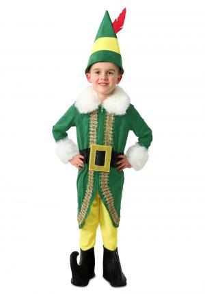 Fantasia de luxo o Elf para crianças-Buddy the Elf Deluxe Costume for Kids