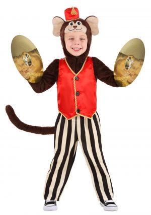 Fantasia de macaco de circo para crianças-Toddler's Circus Monkey Costume