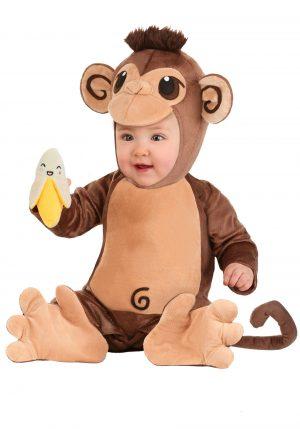 Fantasia de macaquinho para bebê – Monkey Baby Costume