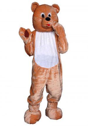Fantasia de mascote de urso de pelúcia adulto – Adult Teddy Bear Mascot Costume