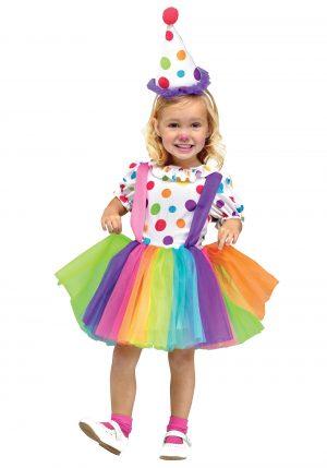 Fantasia de palhaço para meninas – Girls Big Top Fun Clown Costume