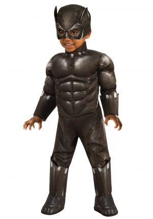 Fantasia de pantera negra para meninos – Black Panther Toddler Boys Costume