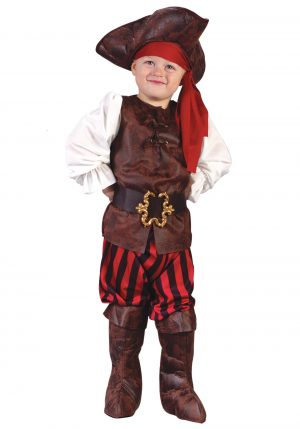 Fantasia de pirata do Caribe infantil -Caribbean Pirate Toddler Costume