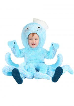 Fantasia de polvo azul para bebe – Toddler Octopus Costume