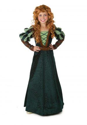 Fantasia de princesa da floresta – Kids Courageous Forest Princess Costume