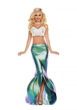 Fantasia de sereia do mar – Women's Under the Sea Mermaid Costume