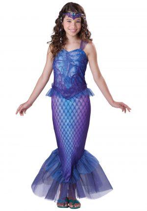 Fantasia de sereia misteriosa para meninas – Girls Mysterious Mermaid Costume