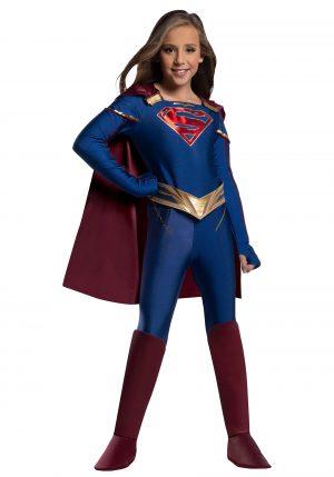 Fantasia de  supergirl para crianças -Supergirl Jumpsuit Costume for Kids