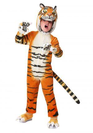 Fantasia de tigre realista para crianças – Toddler Realistic Tiger Costume