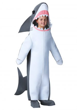 Fantasia de tubarão branco infantil – Kids Great White Shark Costume
