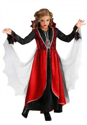 Fantasia de vampiro para meninas -Girls Vampire Costume