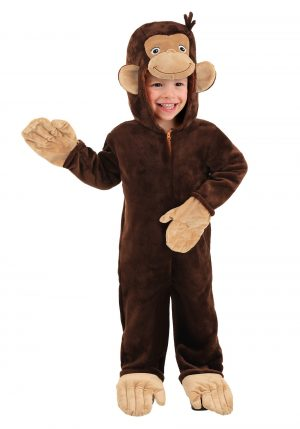 Fantasia do Macaco George – Deluxe Curious George Toddler Costume
