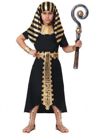 Fantasia faraó egípcio  para Meninos -Egyptian Pharaoh Boys Costume