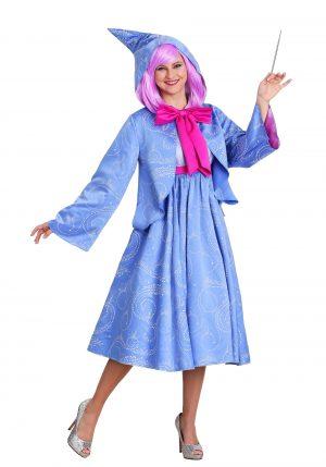 Fantasia feminina da Disney Cinderela Fada Madrinha – Disney Cinderella Fairy Godmother Womens Costume
