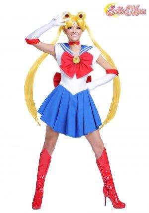 Fantasia  feminina de Sailor Moon – Sailor Moon Women's Costume