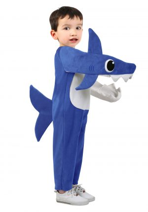 Fantasia infantil Papai Tubarão (Baby Shark)  – Daddy Shark Deluxe Child Costume